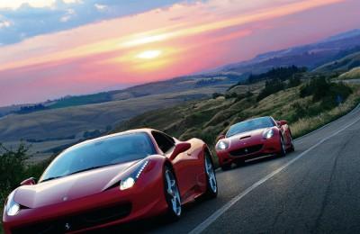 Ιταλία με Ferrari